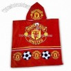Children Hood Beach Towel for Manchester United Football Club