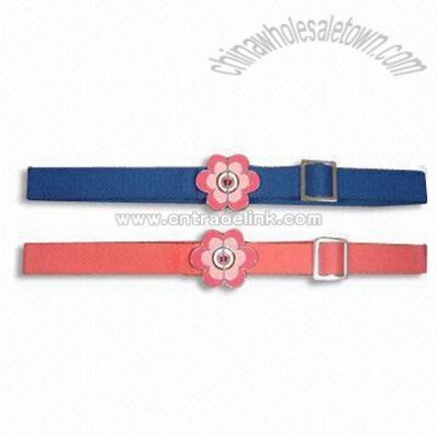 Children's Canvas Belts