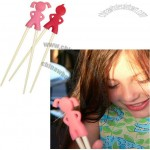 Childrens Chopstick Holder Pink Gril