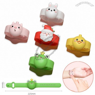 Children's Hand Sanitizer Silicone Bracelet Cartoon Design