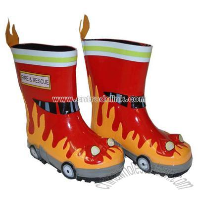 Children&39s Kidorable Fireman Rain Boots Suppliers China