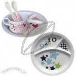Children's Melamine Tableware, Easy to Clean