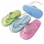 Children's Slippers, Made of EVA Material with Canvas