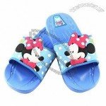 Children's Slippers, Made of PVC Upper, PE Insole/Outsole