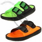Children's Slippers, PVC Slip Buckle Upper with Super Soft Massage EVA Footbed and Injection Sole