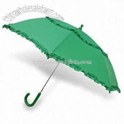 Children's Umbrella with Metal Shaft and Frame