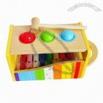 Children's Xylophone Toy, Early Learning Melody Knock Qintai Which is Used for Musical Toys