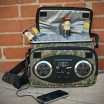 Chillin iPod Ready Radio Cooler, Camo