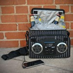 Chillin iPod Ready Radio Cooler, Pin Stripe