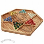 Chinese Checkers - Wooden Deluxe