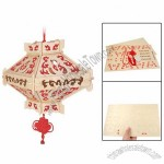 Chinese Knot 3D Wooden Lantern Construction Kit Puzzle Toy