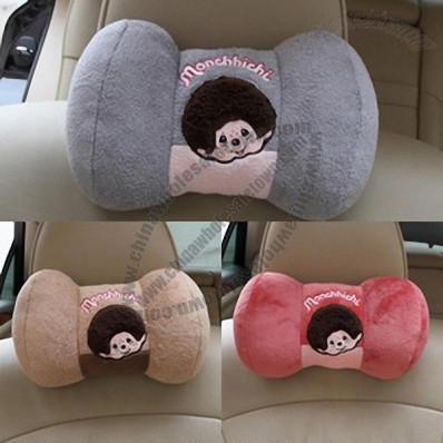 Chino a couple MONCHHICHI slow rebound memory cotton car cartoon headrest neck pillow