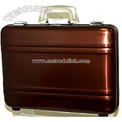 Chocolate Brown Business Attache Case