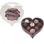 Chocolate Heart Shape Box