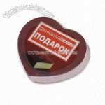 Chocolate Heart-shaped Compressed Towel