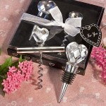 Choice Crystal Heart Design Barware Sets