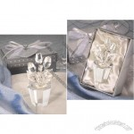 Choose Crystal Rose Flower Pot Wedding Favors