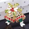 Christmas Bell Shaped Brooch