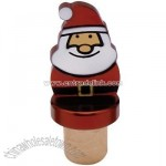 Christmas Bottle Topper (Santa)