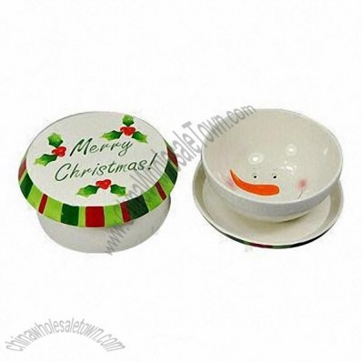 Christmas Cake Stand/Bowl, Table Decoration