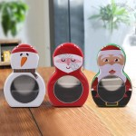 Christmas Candy Cookies Packaging Tin Box