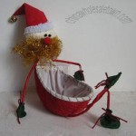 Christmas Decoration -Old Man Basket