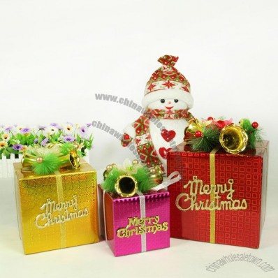 Christmas Decorations Gift Boxes
