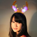 Christmas Flash Antlers Headband