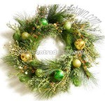 Christmas Flower Wreath and Artificial Flower