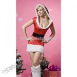 Christmas Fur Lingerie Costume