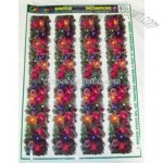 Christmas Garland Window Decoration Cling