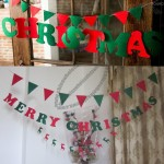 Christmas Party Letter Banners