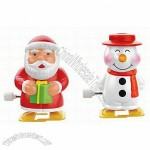 Christmas Pencil Sharpener - Santa Claus and Snowman