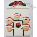Christmas Personalized Snowman Ornaments