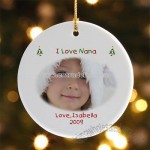 Christmas Photo Wishes Personalized Ornament