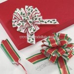 Christmas Pull Bow Assortment set of 6