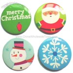 Christmas Tin Badge