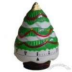 Christmas Tree 60 Minute Kitchen Cooking Ring Alarm Timer