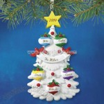 Christmas Tree Personalized Holiday Ornaments