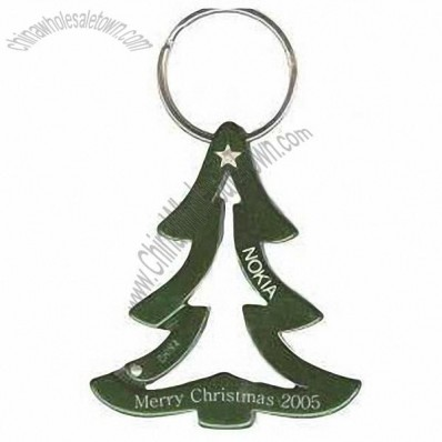 Christmas Tree Shaped Carabiner