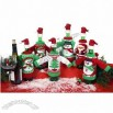 Christmas Wine Bottle Decoration Cover, Wine Bottle Dress
