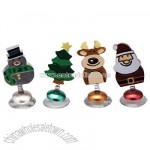 Christmas Wine Charms Set, Suction (4 pc)