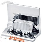 Chrome Metal Container Truck Business Card Holder