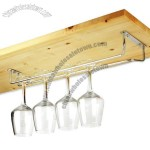Chrome Plated Wine Glass Rack