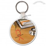 Circle Soft Vinyl Key Tag