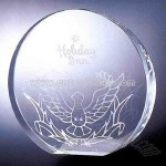 Circle crystal award