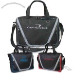 City Streets - Conference Bag With Dual Zippered Front Mesh Pocket