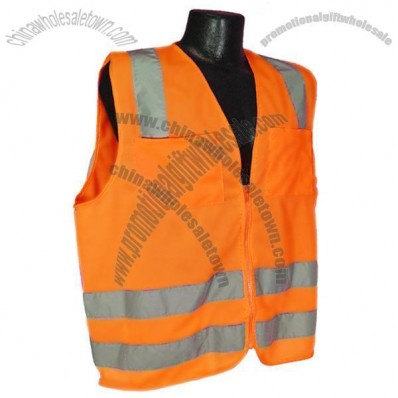 Class 2 Safety Vest - Hi Viz Orange