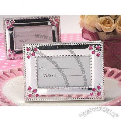 Classic Beaded Silver Metal Photo Frame