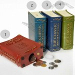 Classic Book Style Coin Bank